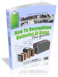 How to Recondition Batteries at Home PDF Book Free Download
