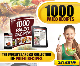 1000 Paleo Recipes Book