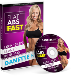 Flat Abs Fast Danette May Free DVD