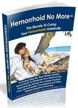 Hemorrhoid No More Book