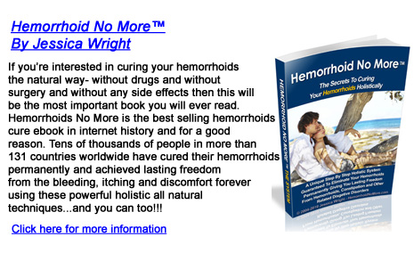 how to get rid of small external hemorrhoids