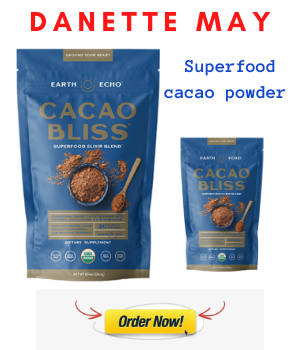 DANETTE MAY SUPERFOOD CACAO POWDER