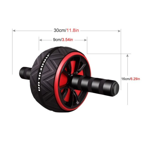 Abdominal Roller Wheel Exercise Equipment Mute Roller Muscles Home Gym Fitness Equipment Gift Kneeling Pad