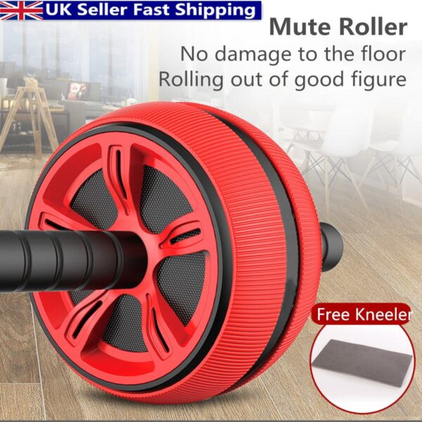 Ab Roller Wheel Roller Trainer Fitness Equipment Gym Home Workout Abdominal Muscles Training Home Gym Fitness Equipment