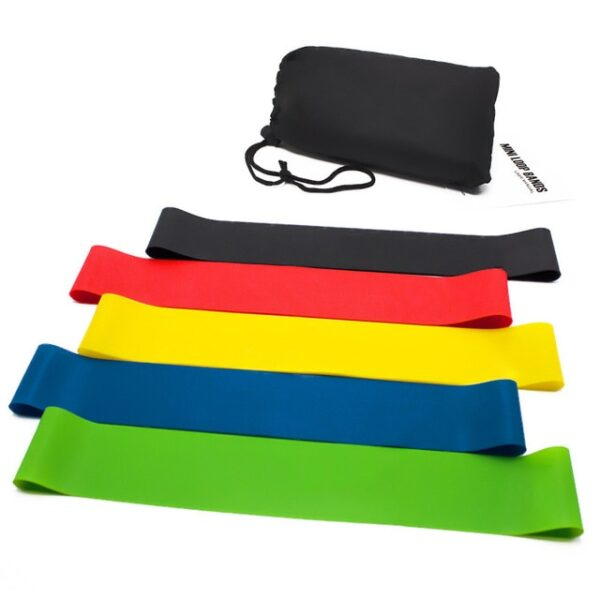Mini Resistance Bands Set Yoga Elastic Fitness Equipment Rubber Pull Up Loop Elasticas Functional Training For 5 Colors Home Gym